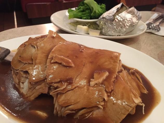 Turkey Open Hot Sandwich - Morning Star Cafe, New York