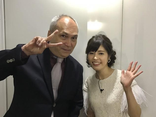 モーリーロバートソン MC神田愛花
