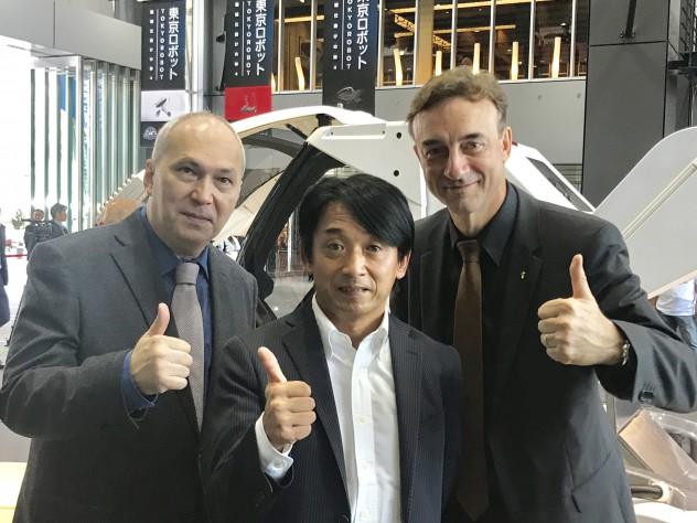 元F1レーサー・片山右京さん、モータージャーナリスト・ピーターライオン