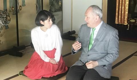 モーリー モーリーロバートソン 報道ランナー 薄田ジュリア